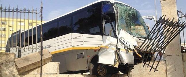 Accidente Trafico Autobus Malaga