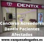 DENTIX CONCURSO ACREEDORES RECLAMACION PACIENTES