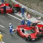 Accidente Trafico Coches Lujo Ferrari