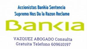 BANKIA ACCIONISTAS LOGO VAZQUEZ ABOGADOS