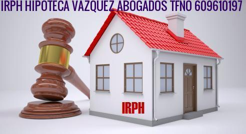 Irph vazquez abogados for Hipoteca suelo bankia